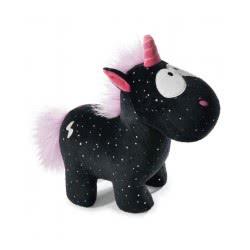 Nici Theodor And Friends Unicorn Carbon Flash 22 Cm - Black 41418 4012390414189