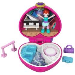 Mattel Polly Pocket Ο Κόσμος Της Polly Mini Σετάκια - Μπαλέτο GCD62 / FWN41 887961679359