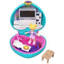 Mattel Polly Pocket Ο Κόσμος Της Polly Mini Σετάκια - Σαλόνι GCD62 / GCN07 887961731521