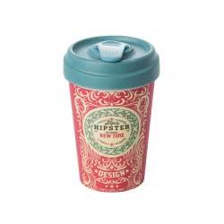 BambooCUP Original Hipster Κούπα Ποτήρι για καφέ ή τσάι ΒCΡ217 4260375682126