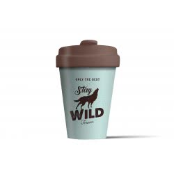 BambooCUP Stay Wild Κούπα Ποτήρι για καφέ ή τσάι ΒCΡ277 4260375685721