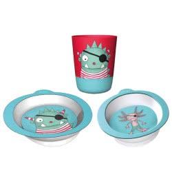 Chic Mic Παιδικό σετ Φαγητού Set of 3 Schatzsucher ΒΚS331 4260375685899
