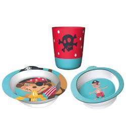 Chic Mic Παιδικό σετ Φαγητού Set of 3 Pirate ΒΚS332 4260375685905