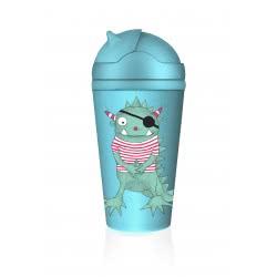 Chic Mic Παγούρι με καλαμάκι Bottle Schatzsucher Moo ΒΚΒ100 4260375685950