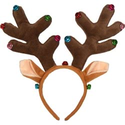 Christakopoulos Χριστουγεννιάτικη Στέκα Τάρανδος Με Κουδουνάκια - Καφέ 4770 5212007551507