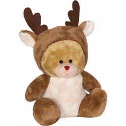Christakopoulos Χριστουγεννιάτικο Λούτρινο Αρκουδάκι 20 Εκ. - 4 Σχέδια 2009 5212007552184