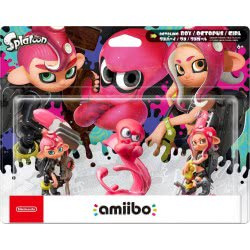 Nintendo Amiibo Octoling 3-pack (Splatoon)  045496380656