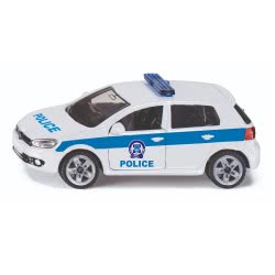 siku Police Vehicle VW Golf 6 Greek SIGR1410 4006874914104