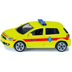 siku Αυτοκινητάκι Ασθενοφόρο VW Golf 6 Ελληνικό - Κίτρινο SIGR1411 4006874914111