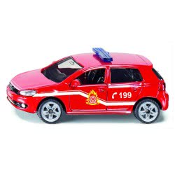 siku Fire Department Vehicle VW Golf 6 Greek SIGR1437 4006874914371