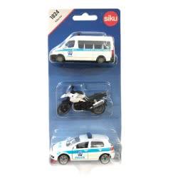 siku Σετ 3 Οχήματα Ελληνικής Αστυνομίας SI001824 4006874918249