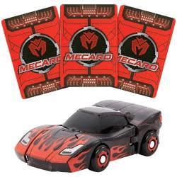 Mattel Mecard Tanatos Deluxe Mecardimal Όχημα με Κάρτες Νούμερο 6 FXP21 / GBP73 887961720808