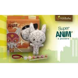 AVENUE mandarine Κούκλα Υφασμάτινη Για Ζωγραφική Super Animal Loopin 52480 3065500524804