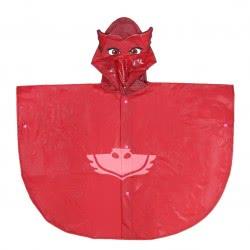 Cerda Pjmasks - Πιτζαμοήρωες Αδιάβροχο Πόντσο Ολέτ 5-6 Ετών - Κόκκινο 2400000488 8427934232376
