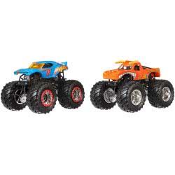 Mattel Monster Jam Vehicle Set of 2 - 10 Designs X9017 746775176150