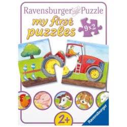 Ravensburger Παζλ 9x2τεμ. Στο αγρόκτημα 07333 4005556073337