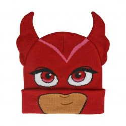 Cerda PJ Masks Winter Hat Owlette - Red 2200003541 8427934227051