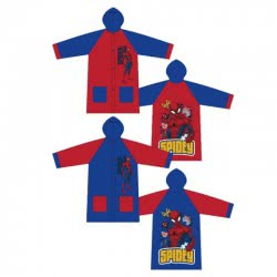 Arditex Spiderman Raincoat PVC 4-6-8 years - 2 Colours SM11570 8430957115700