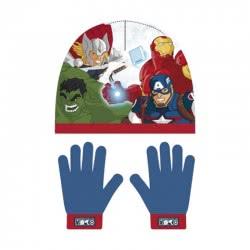 Arditex Marvel Avengers Σετ Σκούφος και Γάντια - Μπλε AV12347 8430957123477