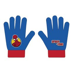 Arditex Spider-Man Kids Gloves - Blue SM12333 8430957123330