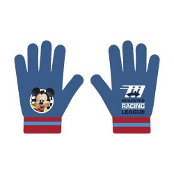 Arditex Mickey Mouse Roadster Racers League Kids Gloves - Blue WD12256 8430957122562