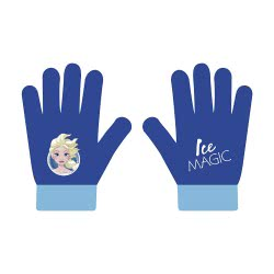 Arditex Disney Frozen Ice Magic Kids Gloves - Blue WD12310 8430957123101
