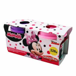 As company Σετ 2 Βαζάκια Πλαστελίνης Minnie Mouse 1045-03568 5203068035686