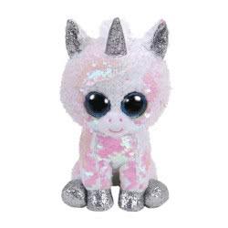 ty Beanie Boos Flippables Plush Sequin Unicorn White 15 Cm 1607-36265 008421362653