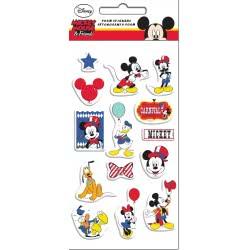 GIM Mickey Mouse and Friends Αυτοκόλλητα Foam 773-11338 5204549115552