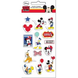 GIM Mickey Mouse and Friends Αυτοκόλλητα Foam 773-11338 5204549115552