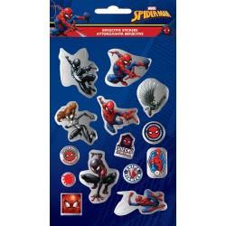 GIM Spiderman Αυτοκόλλητα Reflective 777-51427 5204549115804