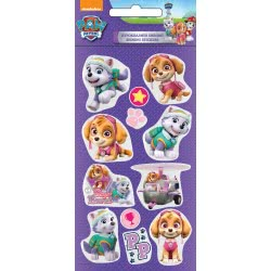 GIM Nickelodeon Paw Patrol Girl Αυτοκόλλητα Shining 774-00333 5204549115644