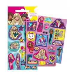 GIM Barbie Αυτοκόλλητα Laser 779-10410 5204549115194