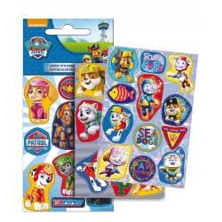 GIM Paw Patrol Boy Stickers Laser 774-00310 5204549115620