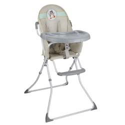 Bebe Stars Lunch Chair Leaf - Grey 865-186 5213002345320