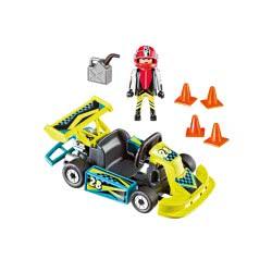 Playmobil Bαλιτσάκι Go-Kart 9322 4008789093226