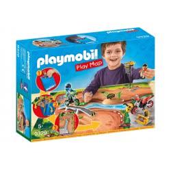 Playmobil Επιφάνεια Παιχνιδιού Πίστα Motocross 9329 4008789093295