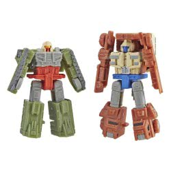 Hasbro Transformers Generations War For Cybertron: Siege - Autobot Topshot And Flak E3420 / E3558 5010993550937