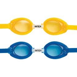 INTEX Ιntex Γυαλάκια Θαλάσσης Entry Level Goggles Σε 2 Χρώματα 55690 078257556908