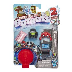 Hasbro Transformers Botbots Toys Series 1 Techie Team Φιγούρες Έκπληξη - 2 Σχέδια E3486 / E4138 5010993548996