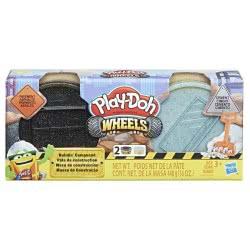 Hasbro Play-Doh Wheels Υλικά Οικοδομής (Τσιμέντο Και Πεζοδρόμιο) E4508 / E4525 5010993554676