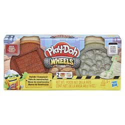 Hasbro Play-Doh Wheels Υλικά Οικοδομής (Τούβλα Και Πέτρες) E4508 / E4524 5010993554669