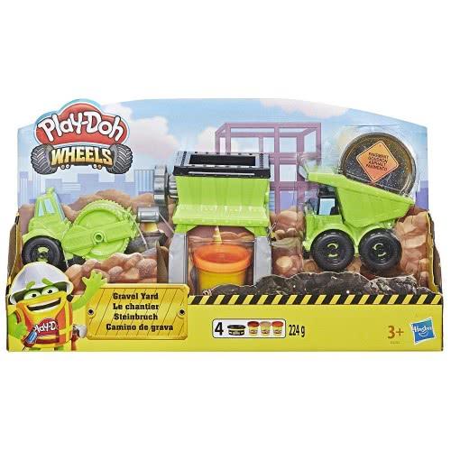 c177a264804 Hasbro Play-Doh Wheels Οχήματα Κατασκευής Χαλικιών για Οδόστρωμα E4293  5010993555932