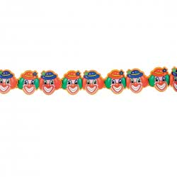 CLOWN Garland Smiling - 3 Meters 79986 5203359799860