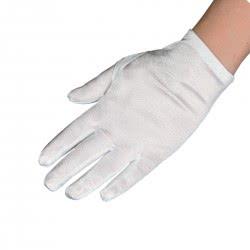 CLOWN Άσπρα Παιδικά Γάντια Σατέν 22 εκ. 70345 5203359703454