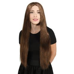 CLOWN Wig Brunette 71 cm 72365 5203359723650