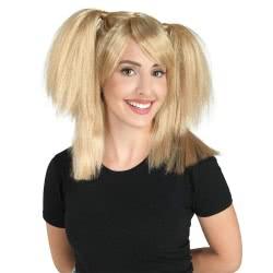 CLOWN Wig Blonde with Braiding 72635 5203359726354