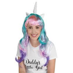 CLOWN Wig Unicorn 72633 5203359726330