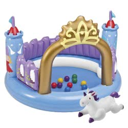 INTEX Φουσκωτό Κάστρο Ball Toyz Magical Castle 48669 078257486694