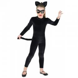 CLOWN Kids Costume Black Panther Full Body Νο. 06 85606 5203359856068